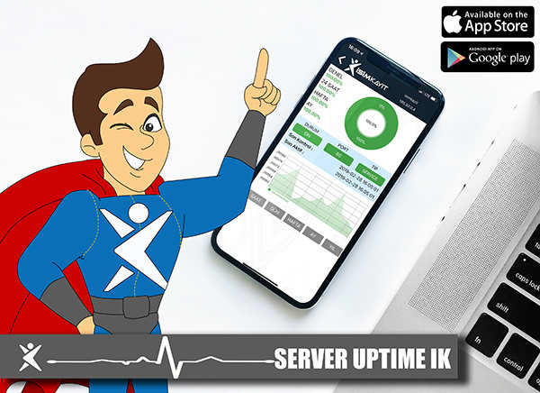uptime server mobil uygulama