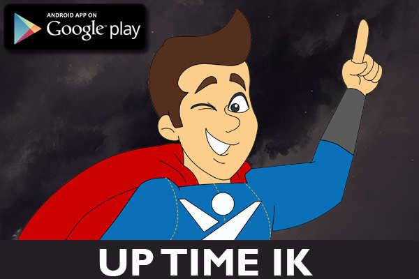uptime server mobil uygulama