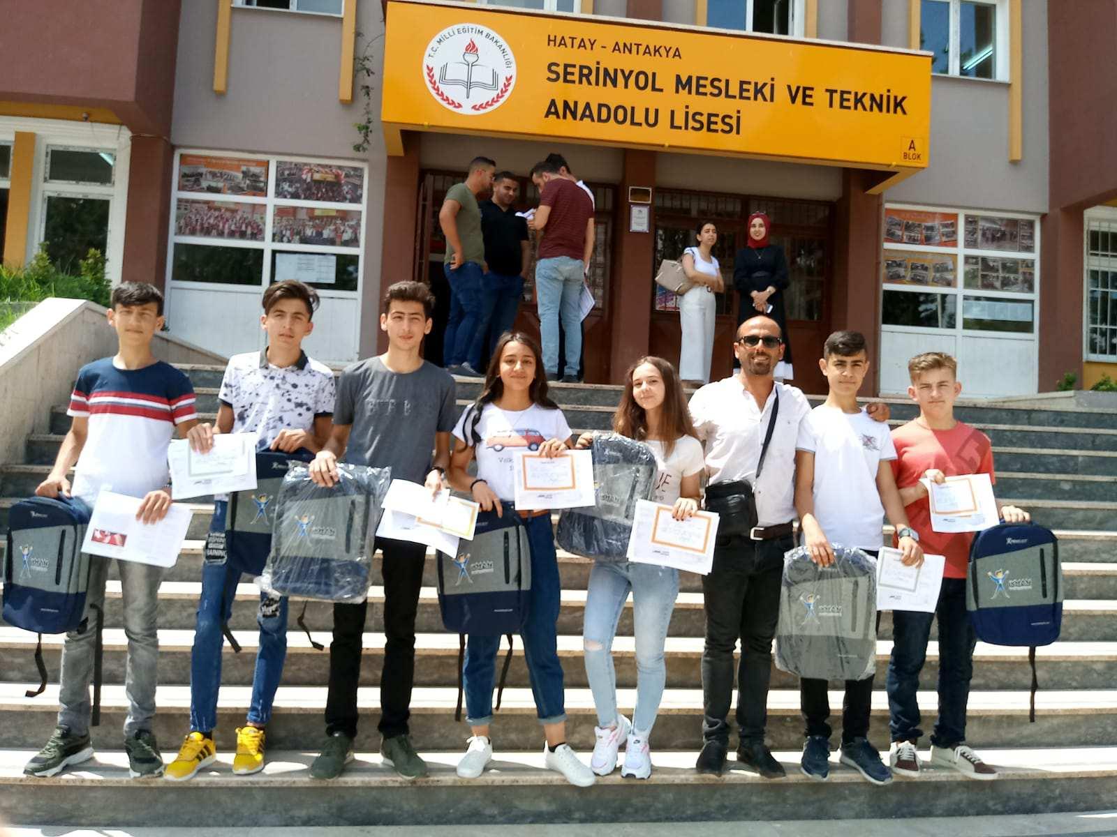 Serinyol Bilişim Bölümü Başarılı Öğrenciler